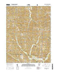 New Plymouth Ohio Current topographic map, 1:24000 scale, 7.5 X 7.5 Minute, Year 2016