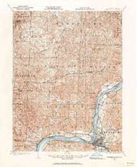 Parkersburg West Virginia Historical topographic map, 1:62500 scale, 15 X 15 Minute, Year 1902