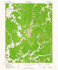 Pedro Ohio Historical topographic map, 1:24000 scale, 7.5 X 7.5 Minute, Year 1961