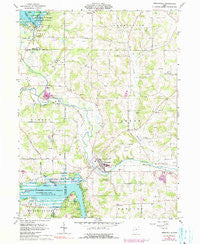Perrysville Ohio Historical topographic map, 1:24000 scale, 7.5 X 7.5 Minute, Year 1961