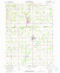 Pioneer Ohio Historical topographic map, 1:24000 scale, 7.5 X 7.5 Minute, Year 1961
