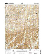 Robertsville Ohio Current topographic map, 1:24000 scale, 7.5 X 7.5 Minute, Year 2016 from Ohio Map Store