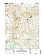 Roundhead Ohio Current topographic map, 1:24000 scale, 7.5 X 7.5 Minute, Year 2016 from Ohio Map Store