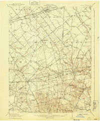 Sabina Ohio Historical topographic map, 1:62500 scale, 15 X 15 Minute, Year 1917