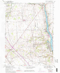 Shawnee Hills Ohio Historical topographic map, 1:24000 scale, 7.5 X 7.5 Minute, Year 1967