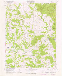Sinking Spring Ohio Historical topographic map, 1:24000 scale, 7.5 X 7.5 Minute, Year 1961