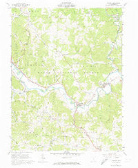 Stewart Ohio Historical topographic map, 1:24000 scale, 7.5 X 7.5 Minute, Year 1961