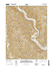 Stockport Ohio Current topographic map, 1:24000 scale, 7.5 X 7.5 Minute, Year 2016 from Ohio Maps Store