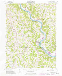 Stockport Ohio Historical topographic map, 1:24000 scale, 7.5 X 7.5 Minute, Year 1961