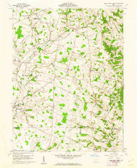 Sugar Tree Ridge Ohio Historical topographic map, 1:24000 scale, 7.5 X 7.5 Minute, Year 1961