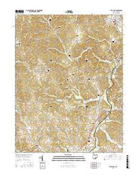 The Plains Ohio Current topographic map, 1:24000 scale, 7.5 X 7.5 Minute, Year 2016