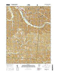 Union Furnace Ohio Current topographic map, 1:24000 scale, 7.5 X 7.5 Minute, Year 2016