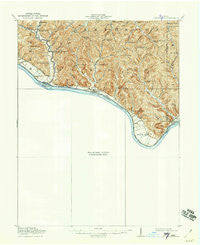 Vanceburg Kentucky Historical topographic map, 1:62500 scale, 15 X 15 Minute, Year 1919