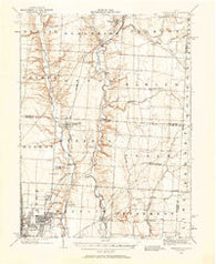 Westerville Ohio Historical topographic map, 1:62500 scale, 15 X 15 Minute, Year 1902