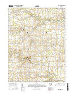York Center Ohio Current topographic map, 1:24000 scale, 7.5 X 7.5 Minute, Year 2016 from Ohio Map Store