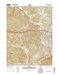 Zanesville West Ohio Historical topographic map, 1:24000 scale, 7.5 X 7.5 Minute, Year 2013