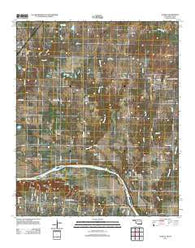 Achille Oklahoma Historical topographic map, 1:24000 scale, 7.5 X 7.5 Minute, Year 2013