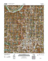 Ada Oklahoma Historical topographic map, 1:24000 scale, 7.5 X 7.5 Minute, Year 2013