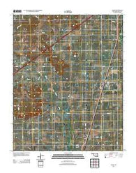 Adair Oklahoma Historical topographic map, 1:24000 scale, 7.5 X 7.5 Minute, Year 2012