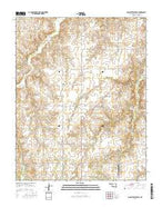 Alabaster Caverns Oklahoma Current topographic map, 1:24000 scale, 7.5 X 7.5 Minute, Year 2016 from Oklahoma Map Store