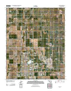 Altus Oklahoma Historical topographic map, 1:24000 scale, 7.5 X 7.5 Minute, Year 2012