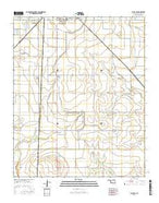 Altus SE Oklahoma Current topographic map, 1:24000 scale, 7.5 X 7.5 Minute, Year 2016 from Oklahoma Map Store