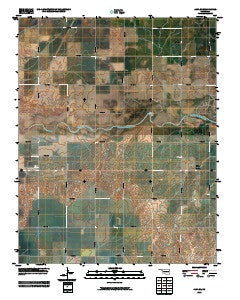 Alva SE Oklahoma Historical topographic map, 1:24000 scale, 7.5 X 7.5 Minute, Year 2009
