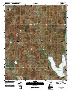 Anadarko NW Oklahoma Historical topographic map, 1:24000 scale, 7.5 X 7.5 Minute, Year 2009