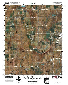 Anadarko West Oklahoma Historical topographic map, 1:24000 scale, 7.5 X 7.5 Minute, Year 2009