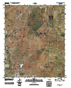Arbuckle Hill Oklahoma Historical topographic map, 1:24000 scale, 7.5 X 7.5 Minute, Year 2009