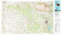 Ardmore Oklahoma Historical topographic map, 1:100000 scale, 30 X 60 Minute, Year 1986