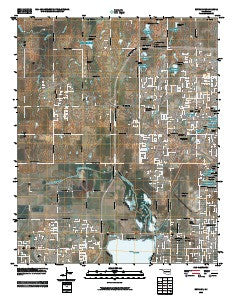 Bethany Oklahoma Historical topographic map, 1:24000 scale, 7.5 X 7.5 Minute, Year 2009