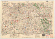 Clinton Oklahoma Historical topographic map, 1:250000 scale, 1 X 2 Degree, Year 1957