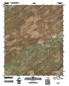 Cloudy Oklahoma Historical topographic map, 1:24000 scale, 7.5 X 7.5 Minute, Year 2009