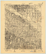 Cogar Oklahoma Historical topographic map, 1:62500 scale, 15 X 15 Minute, Year 1893