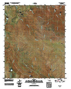 Fox NE Oklahoma Historical topographic map, 1:24000 scale, 7.5 X 7.5 Minute, Year 2009