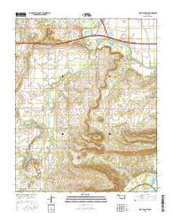 Holt Mountain Oklahoma Current topographic map, 1:24000 scale, 7.5 X 7.5 Minute, Year 2016