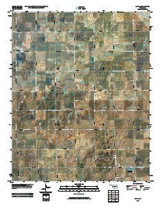 Loyal Oklahoma Historical topographic map, 1:24000 scale, 7.5 X 7.5 Minute, Year 2009