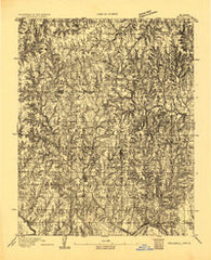 Mulhall Oklahoma Historical topographic map, 1:62500 scale, 15 X 15 Minute, Year 1893