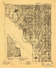 Norman Oklahoma Historical topographic map, 1:62500 scale, 15 X 15 Minute, Year 1893