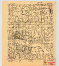 Oklahoma City Oklahoma Historical topographic map, 1:62500 scale, 15 X 15 Minute, Year 1893