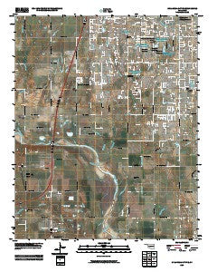 Oklahoma City SE Oklahoma Historical topographic map, 1:24000 scale, 7.5 X 7.5 Minute, Year 2009