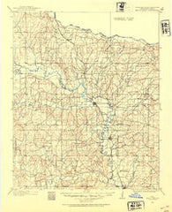 Pauls Valley Oklahoma Historical topographic map, 1:125000 scale, 30 X 30 Minute, Year 1898