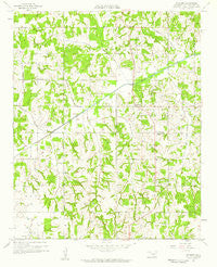 Pearson Oklahoma Historical topographic map, 1:24000 scale, 7.5 X 7.5 Minute, Year 1958