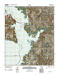 Platter Oklahoma Historical topographic map, 1:24000 scale, 7.5 X 7.5 Minute, Year 2012