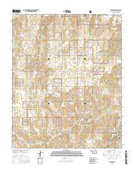 Reydon Oklahoma Current topographic map, 1:24000 scale, 7.5 X 7.5 Minute, Year 2016