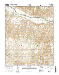 Roll Oklahoma Current topographic map, 1:24000 scale, 7.5 X 7.5 Minute, Year 2016