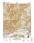 Sand Springs Oklahoma Current topographic map, 1:24000 scale, 7.5 X 7.5 Minute, Year 2016 from Oklahoma Map Store