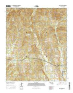 Steel Junction Oklahoma Current topographic map, 1:24000 scale, 7.5 X 7.5 Minute, Year 2016 from Oklahoma Map Store