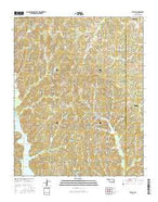 Stella Oklahoma Current topographic map, 1:24000 scale, 7.5 X 7.5 Minute, Year 2016 from Oklahoma Map Store